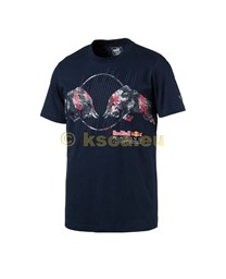 Bild von Red Bull Racing Graphic   T-Shirt 2 blau