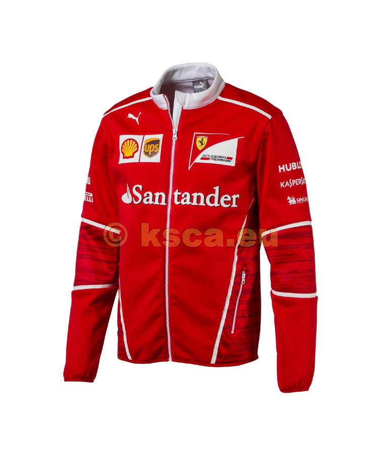 timeless design 45627 f7f29 Ferrari Racing Team Softshell Jacke rot